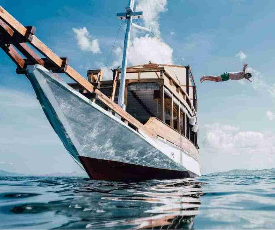 Boat, Jump, Manta Rhei, Treebucca